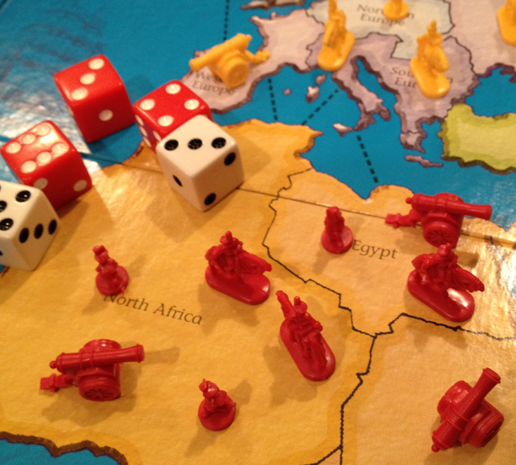 Picture of a game of risk