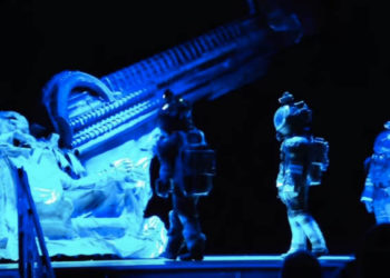 alien stage play