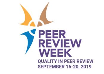 peer review week 2019 logo