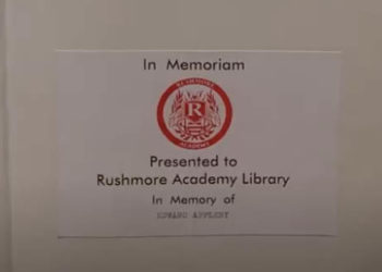 screengrab from Rushmore showing use of futura font